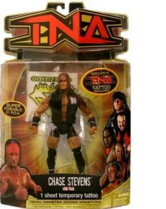 TNA Wrestling Series 8 Action Figure Chase Stevens >>> Check out the image by visiting the link.