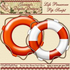 Life Preserver PspScript $6.00 - 75% off all this month! :) Also available as a Photoshop layered template Check out my new $50 Unlimited Useage License too! http://www.joannes-digital-designs.com/life-preserver-pspscript-p-2602.html