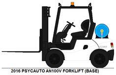 Psycauto AN100V Forklift base by MisterPSYCHOPATH3001.deviantart.com on @DeviantArt
