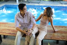 Kryz Uy and Slater Young Look So In-Love in Their Chill Engagement Shoot! Engagement Pictures, Engagement Shoots, Prenup Photos Ideas, Prenuptial Photoshoot, Pre Wedding Photoshoot, Photoshoot Ideas, Kryz Uy, Bride And Breakfast