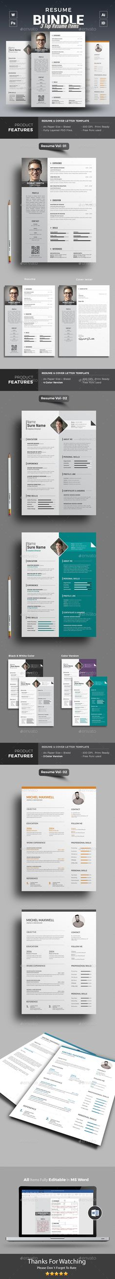 Dynamic Style ResumeCV Multi Color