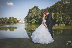 Tóparti esküvői fotózás, A kreatív fotózás Martonvásáron volt.