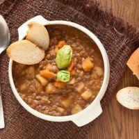 Luscious lentil souo