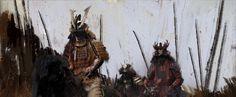 Samurai by David Tilton   Fantasy   2D   CGSociety