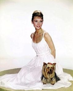 Audrey Hepburn white dress