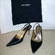 Dolce and Gabbana Heels Pre-loved with a lot of life left in them.  Classic style pumps. Dolce & Gabbana Shoes Heels