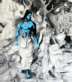 Shiva is love, Shakti is life. Where there is love, there is life..