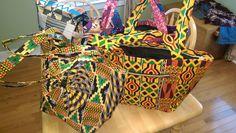 Africa febrics bag