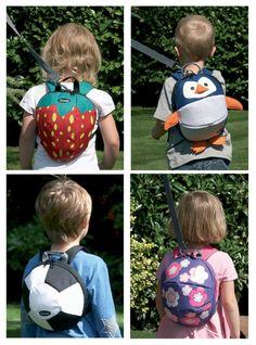 Clippasafe Toddler Daysack Backpack Rucksack & Safety Lead Reins Harness