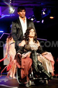 High fashion and beauty in wheelchairs. >>> See it. Believe it. Do it. Watch thousands of SCI videos at SPINALpedia.com