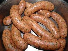Smokey Bacon Sausage. 33% bacon, 100% good taste!