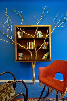 Finalisti 2016 - Finalisti - Office roka Bookcase, Shelves, Home Decor, Shelving, Decoration Home, Room Decor, Book Shelves, Shelving Units, Home Interior Design