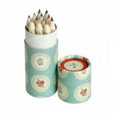 Doily Pattern Tube of 12 Pencils -create the look inspiration 51 Kid Party Favors, Party Gifts, Tea Party, Colored Pencil Holder, Colored Pencils, Cute Christmas Presents, Girl Birthday, Birthday Parties, Goodie Bags For Kids