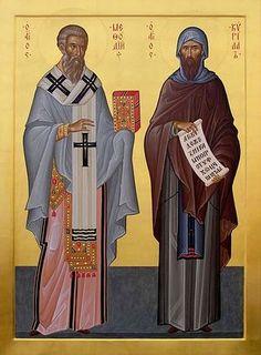 Saints Cyril and Methodius / Святые равноапостольные Кирилл и Мефодий