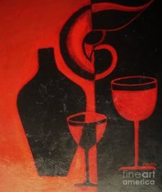 Painting - Romantic Night by Vesna Antic