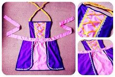 Hey, I found this really awesome Etsy listing at https://www.etsy.com/listing/201823445/disney-princess-tangled-rapunzel-apron