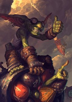 Goblin vs Gnomes entry by EdCid on DeviantArt