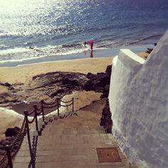 Puerto del Carmen Beach access http://www.ebooking.com/en/lanzarote/hotels/