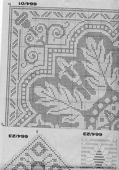 Burda special - E664 - FRA - Filet au crochet. Обсуждение на LiveInternet - Российский Сервис Онлайн-Дневников