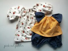 Doll Clothes Set for 14 inch 15 inch Doll by PinkOwlPeddler, $24.50