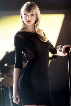 Taylor Swift being a bond girl. Haha