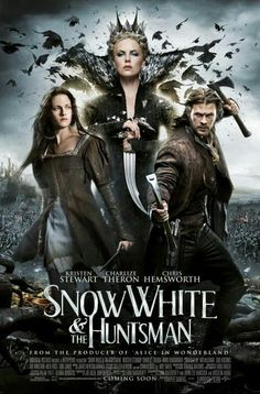 Snow White and the Huntsman movie images. New images from Snow White and the Huntsman starring Kristen Stewart, Chris Hemsworth, and Charlize Theron. Films Hd, Hd Movies, Movies Online, Movies And Tv Shows, Action Movies, Comedy Movies, Watch Movies, Indie Movies, Chris Hemsworth