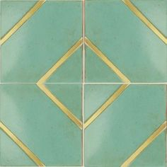 Byzantine 1, custom terracotta tiles with metal inset