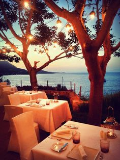 La Luce, fine dining Italian at Kempinski Hotel Barbaros Bay, Bodrum