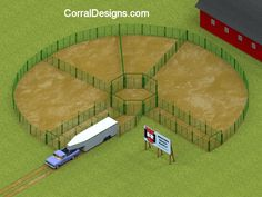 Free rodeo and corral system design and equipment locator Cattle Barn, Beef Cattle, Cattle Farming, Goat Farming, Cattle Corrals, Barn Layout, Raising Cattle, Cattle Panels, Horse Shelter