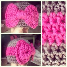 Bow Hat by WillowandMason on Etsy