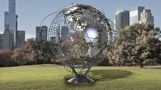 3D model earth globe ivy - TurboSquid 1585427 3ds Max Models, Ivy, Globe, Earth, Architecture, Outdoor Decor, Arquitetura, Speech Balloon, Amber
