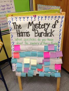 Life in Fifth Grade: My First Week of Fifth Grade (and some freebies!):: The Mystery of Harris Burdick 5th Grade Ela, 6th Grade Reading, Teaching 5th Grade, 5th Grade Classroom, Classroom Ideas, Fifth Grade Writing, Sixth Grade, Student Teaching, Third Grade