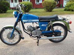 Puch M50 Racing Årsmodel: troligen 1974. på Tradera.com - Puch-moped |