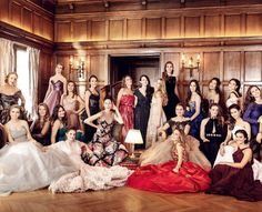 Bal des Débutantes - 2014 Paris, Classy Prom Dresses, Ballroom Dress, Cute, Damselflies