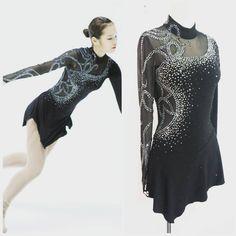 #피겨복 #피겨드레스 #피겨의상  #figureskatingdress #figureskating Figure Skating Outfits, Figure Skating Costumes, Ice Dresses, Ice Skating Dresses, Aerial Costume, Skate Style, Latin Dance Dresses, Dance Outfits, Dance Costumes