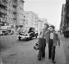 New York Shoe shine boys, 1947 by Stanley Kubrick