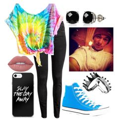 """""""Taylor Caniff"""" by xcastielx on Polyvore featuring H&M, Converse, Belk & Co. and Lime Crime"""