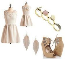 Girly chic look!