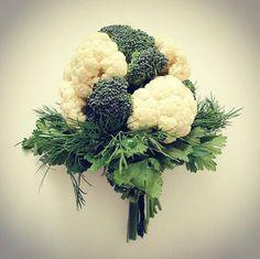 Broccoli and Cauliflower Bouquet   Sarah Wilson