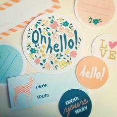 printable tags {toffee magazine}