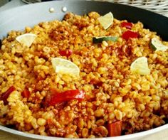 Diabetic Recipes, Diet Recipes, Gnocchi, Fried Rice, Quinoa, Grains, Food And Drink, Pork, Lunch