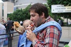 Este padre que le ense�a a su hijo a no desperdiciar comida. | 24 Personas que realmente est�n haciendo un buen trabajo criando a sus hijos