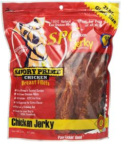 Savory Prime Chicken Jerky Treat, 32-Ounce >>> More info could be found at the image url. (This is an affiliate link) #DogTreats