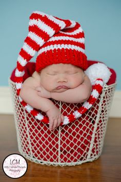 Newborn Stocking Hat is Perfect for Photos by MaPetiteSunflower, $18.00
