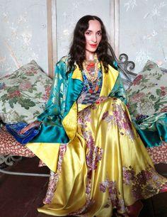 Irma Sharikadze, Georgian designer and Frida Kahlo look-alike.