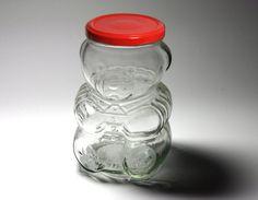 Vintage Kraft Bear Jar Honey Bear Bank   by BewitchingVintage