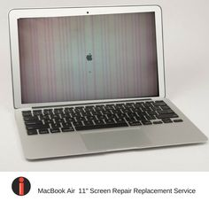 """MacBook Air 11"""" Cracked Broken Screen Repair Replacement Affordable Service  #Apple"""