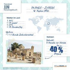 Trendreiseziel Paphos auf #Zypern. Günstige Flüge buchen: http://flug.idealo.de/