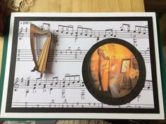 Card made for my harpist friend