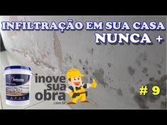 INFILTRAÇÃO NA TUA CASA NUNCA MAIS (PARTE 9) - YouTube Natal Diy, Youtube, Architecture, Videos, Homemade Wall Decorations, Closet Solutions, Cleaning Routines, Household Tips, Pallet Ideas
